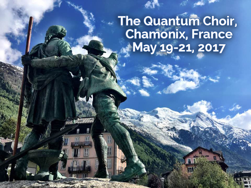 Quantum Choir in Chamonix, France