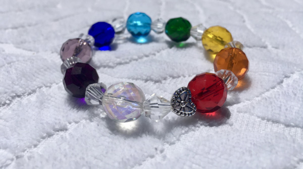 Rainbow Transformational Awareness Bracelet
